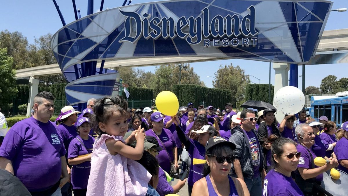 Disney, Unions Reach Deal, But Battle Over City 'Living Wage' Initiative