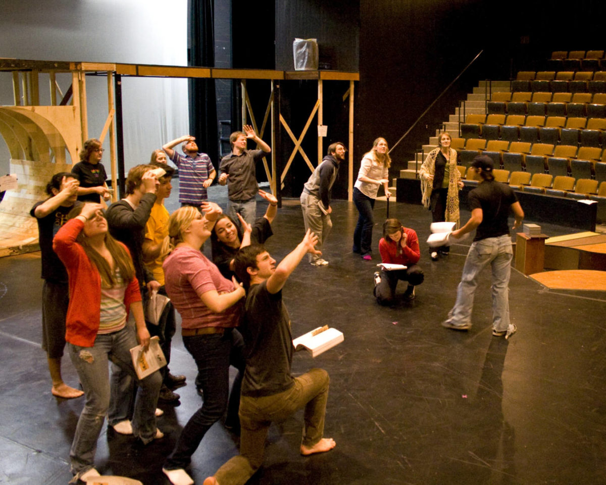 Students Participate in Arts Audition Boot Camp