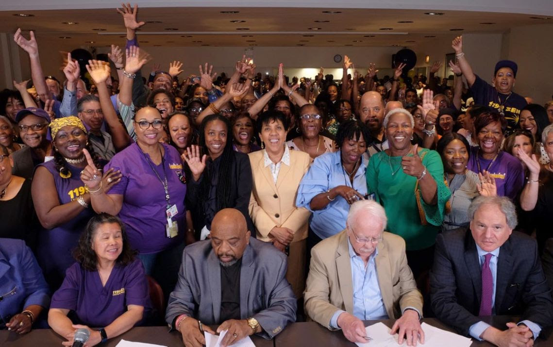 1199 and NYC Hospitals Settle Contract
