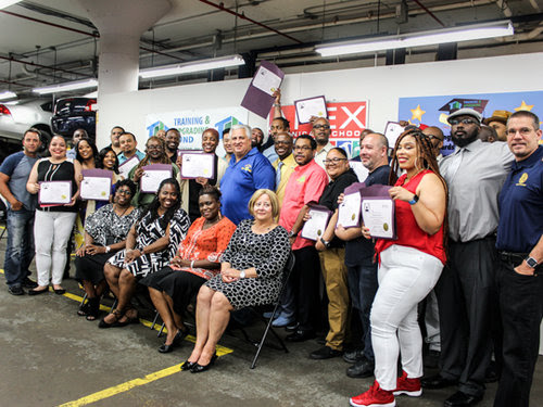 TWU Apprentices Graduate to Transit Electrical Helper Titles