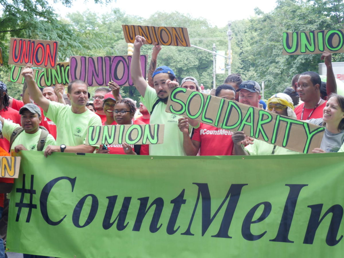 NYC Trade Unionists Defy Corporate Media Smears; Give More To The Needy