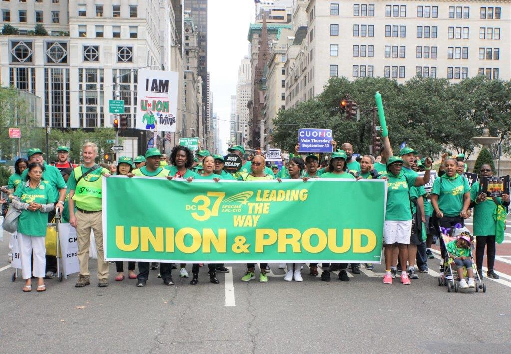 2018 Labor Day Parade Snapshot: 'I Don't Have A Union – I Wish I Did!