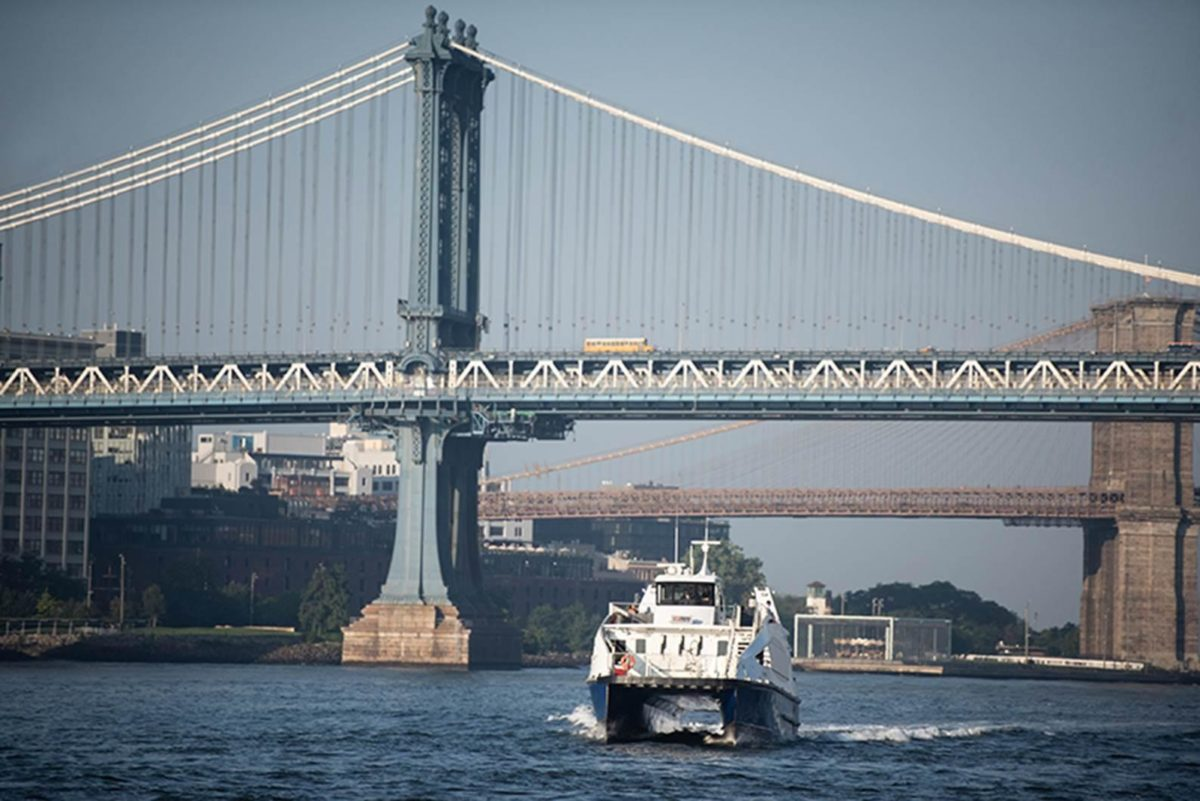 NYC Launches Lower East Side Ferry Route