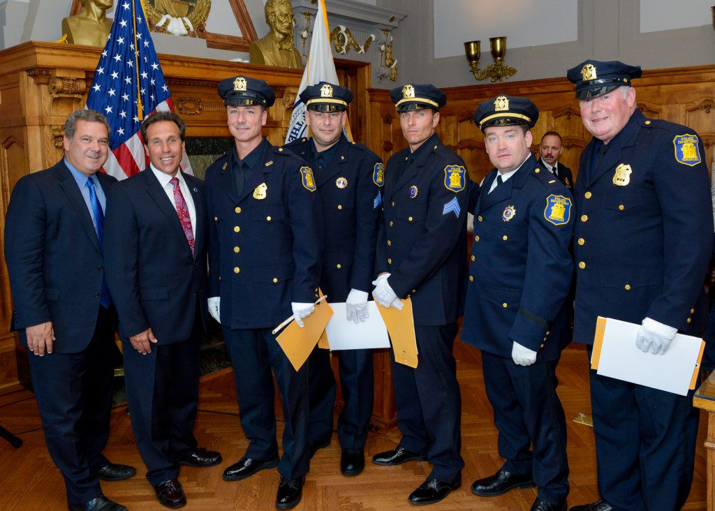 Six Members of the Yonkers Police Department Honored for Bravery