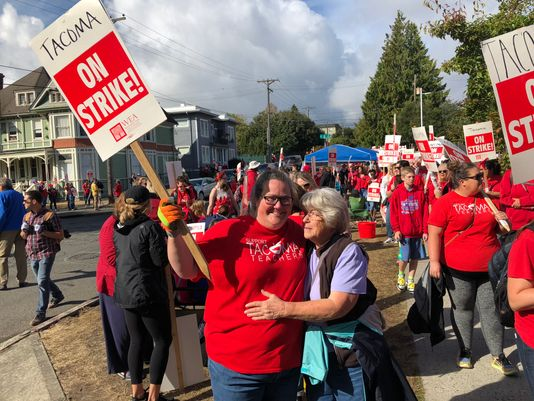 Tacoma Teachers Strike Might Last Rest of Month