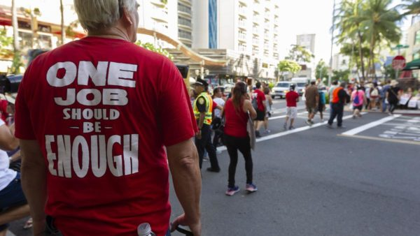 No Talks in Sight in Hawaii Marriott Strike