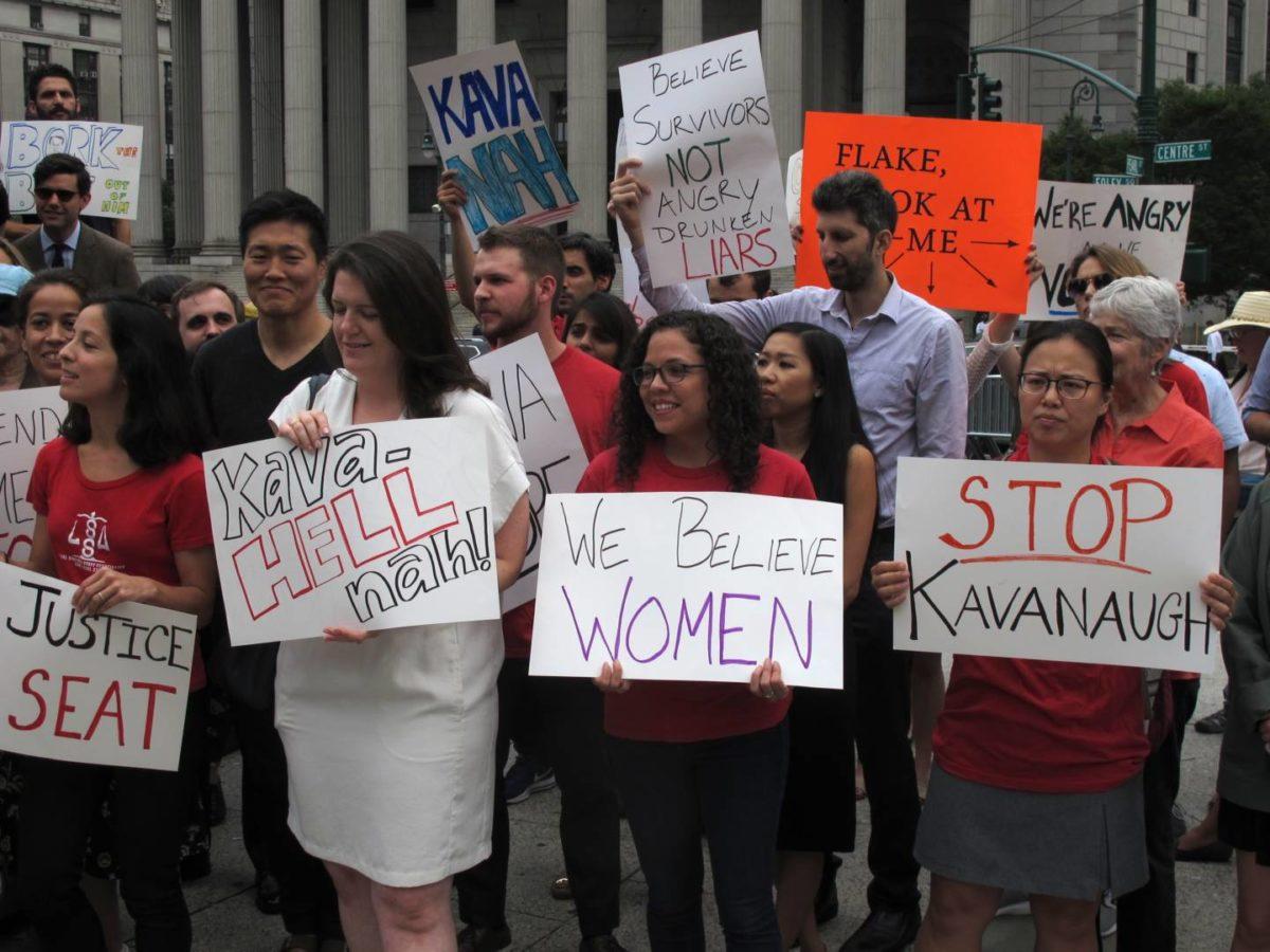 Union Members Jeer 'Sniveling Liar' Brett Kavanaugh as 'Anti-Labor,' 'Anti-Worker'