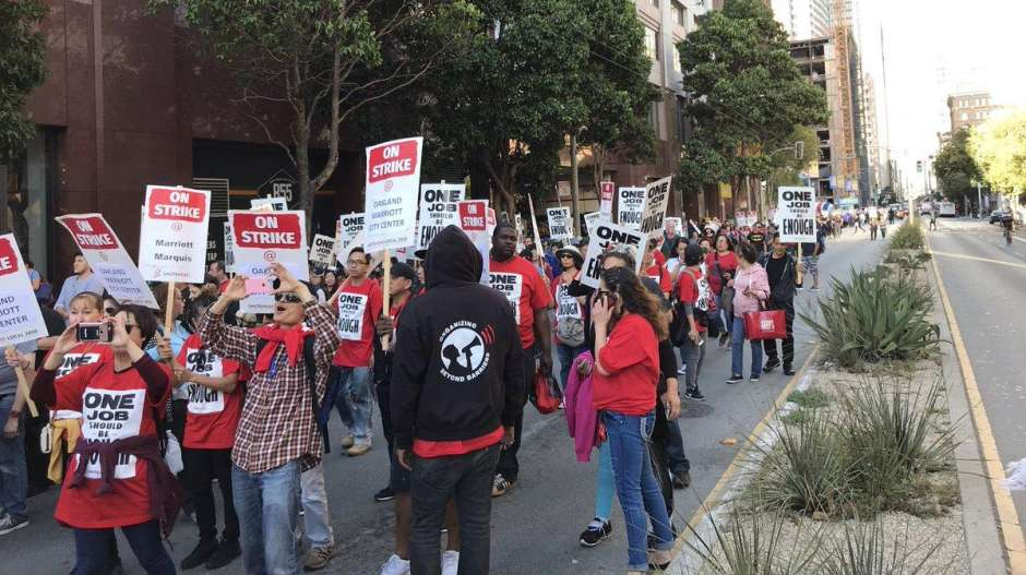 41 Arrested in S.F. Hotel Workers' Protest