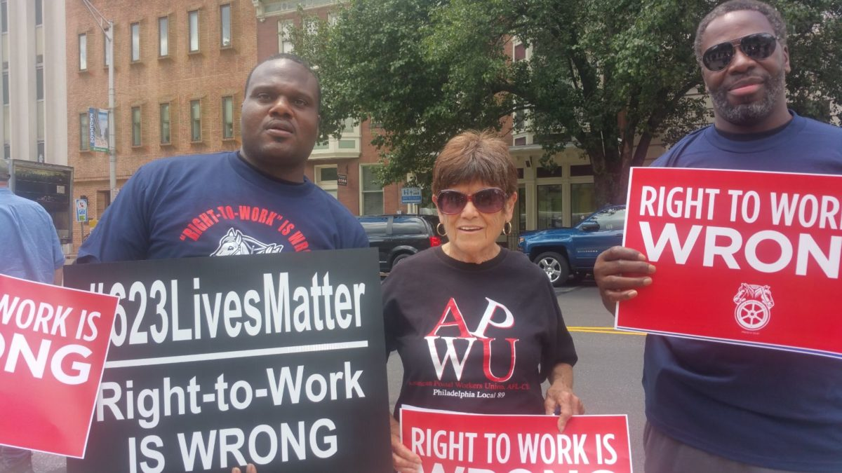 '623 Lives Matter' Teamsters Warn Union Leaders Are Making It Easy For Right to Work Zealots