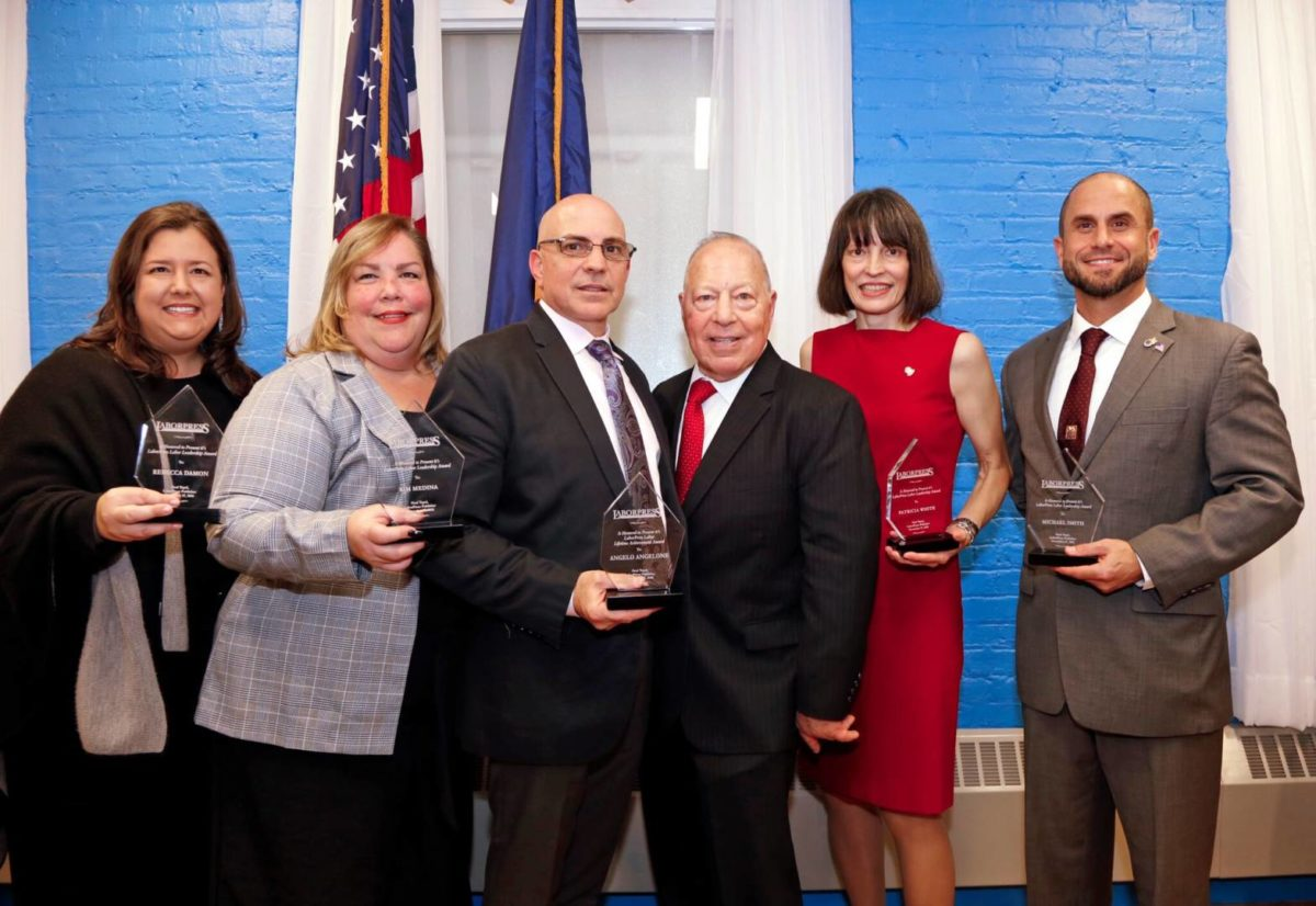 LaborPress Honors Five At Leadership Awards Reception