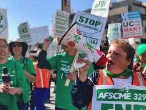 AFSCME Local 3299 Battling University of California