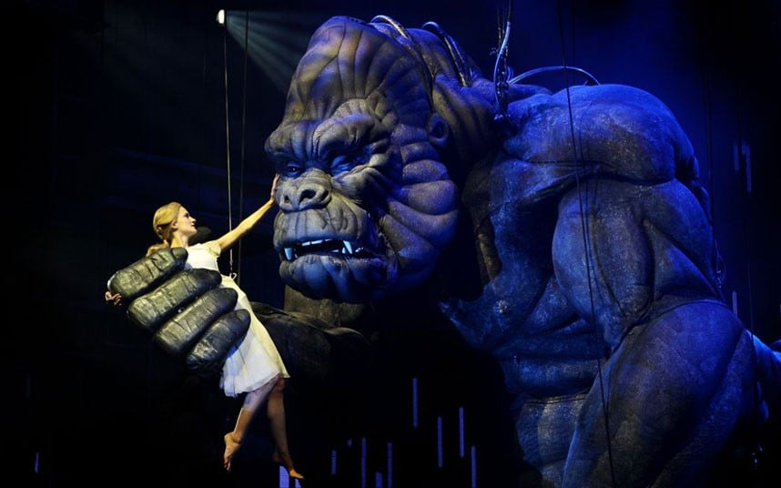 King Kong: More Fit for Disneyland Than Broadway