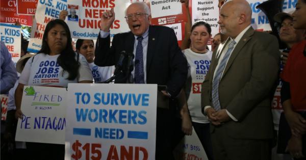 Will Labor Leaders Back Bernie's 2020 Presidential Run?