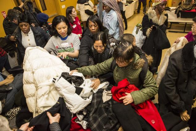 NYC Emergency Management Distributes Coats