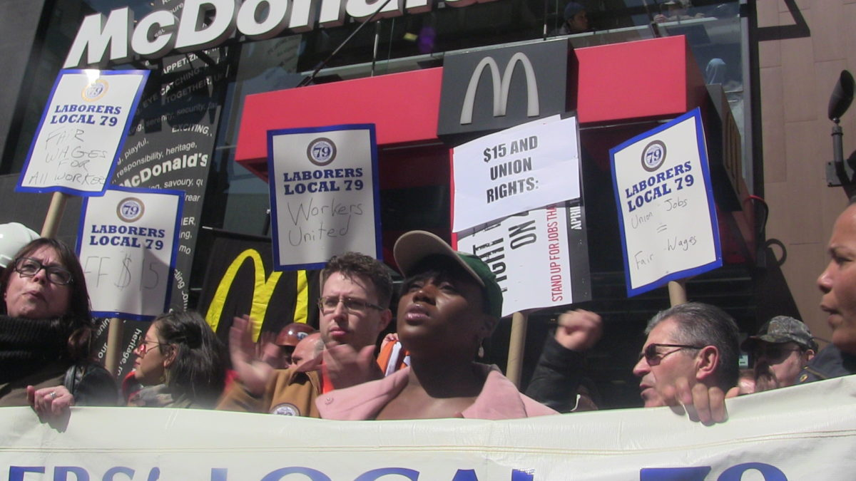 McDonald's Workers Demand Protections Amidst Coronavirus Outbreak