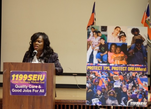 1199SEIU Launches 'Protect TPS, Protect DREAMERS' Campaign