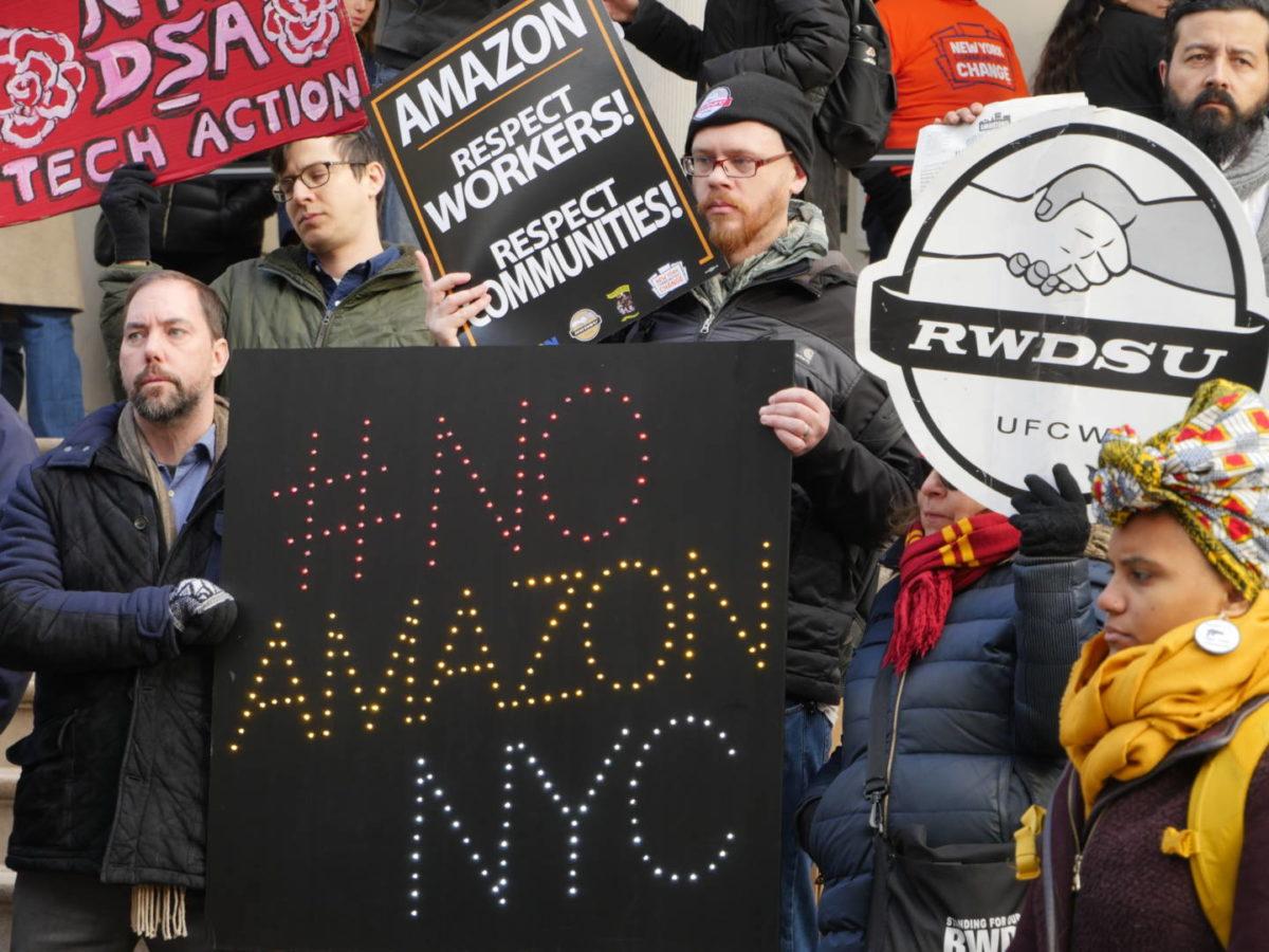 'Break Up Amazon!' World Union Leader Urges