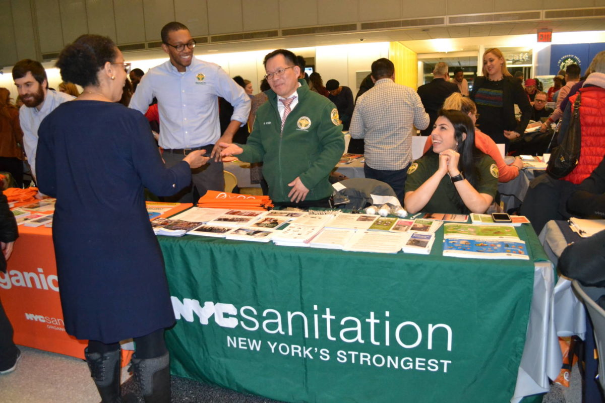 NY's Strongest, Bravest, Finest Join Other Municipal Workers At Community Resources Fair