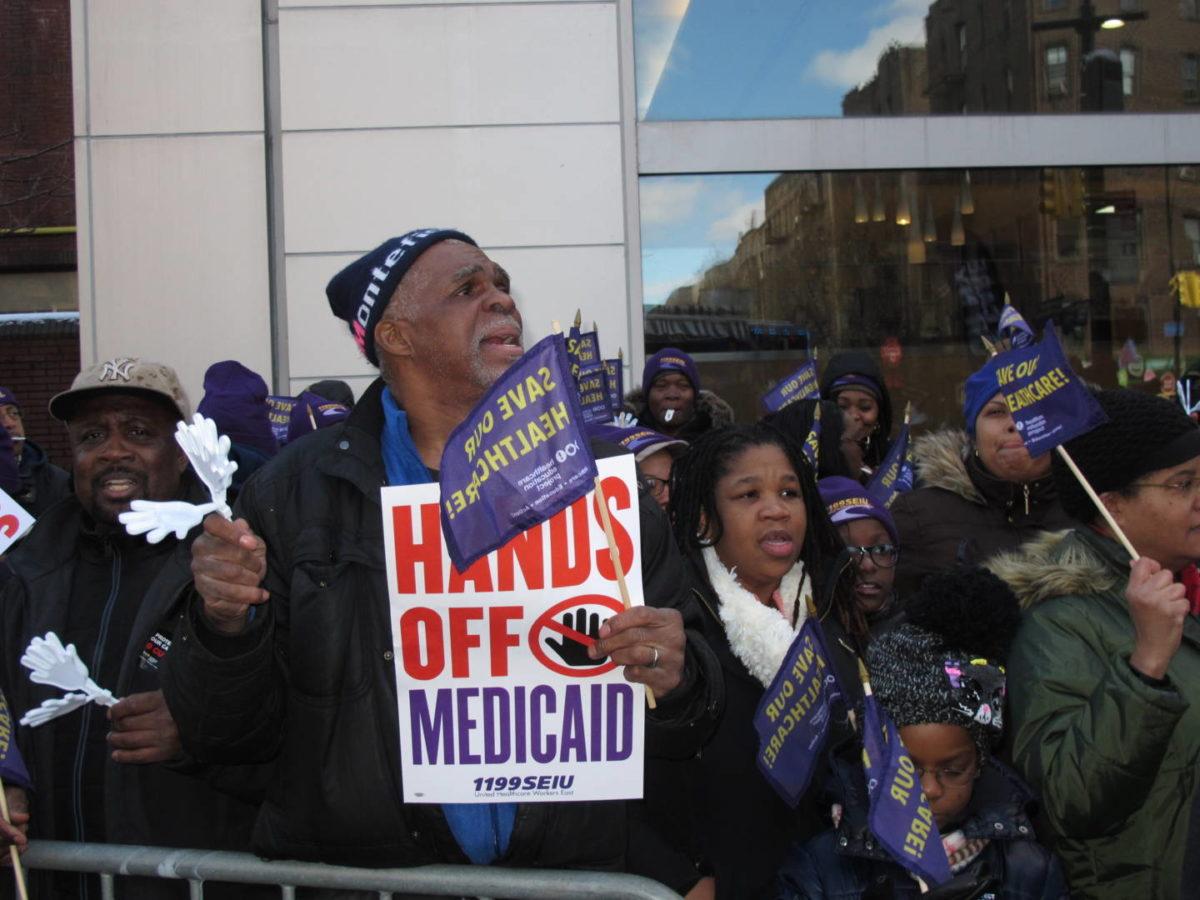 1199 Begins Protests Against 'Devastating' Medicaid Cuts