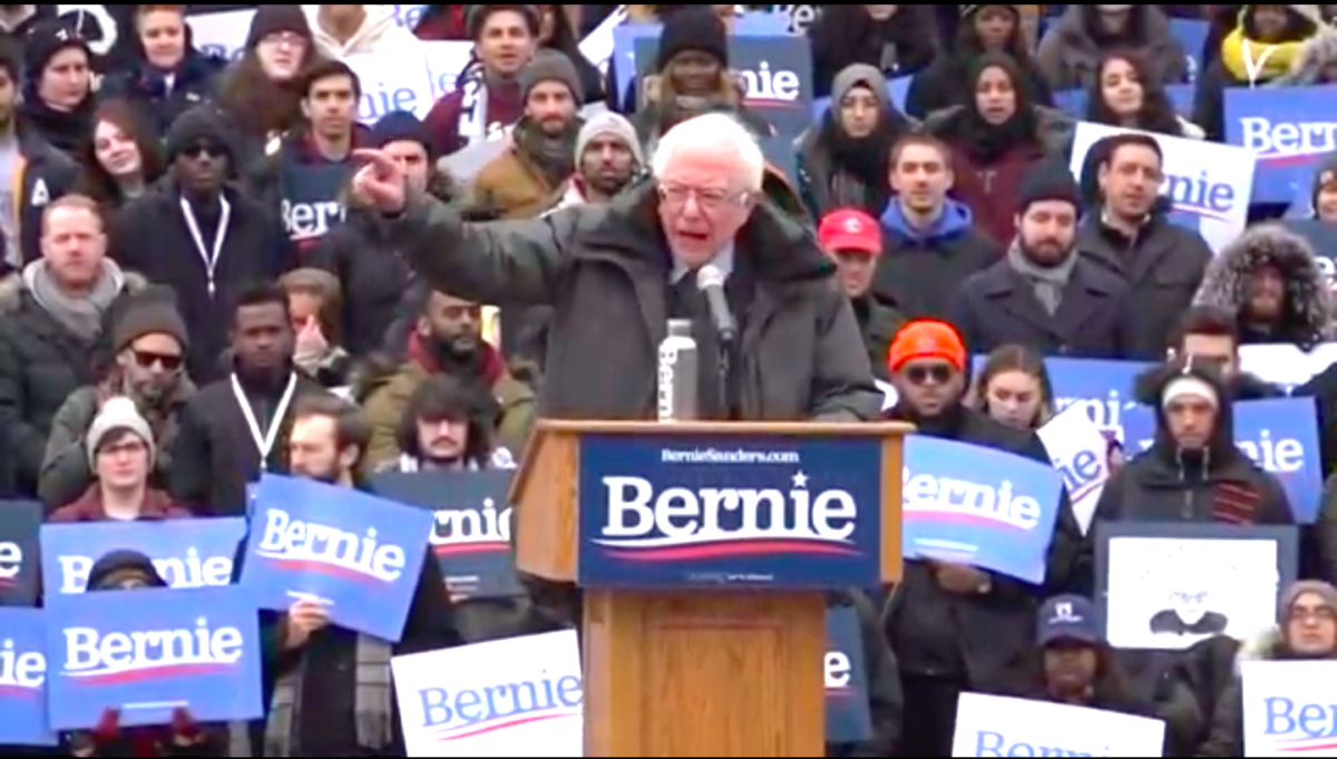 Sanders Storms Into Brooklyn With Bold Pro-Worker Agenda