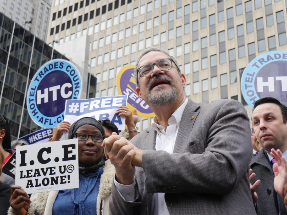 NYC Union Leader Vows To Help Eradicate ICE's 'Deportation Machine'
