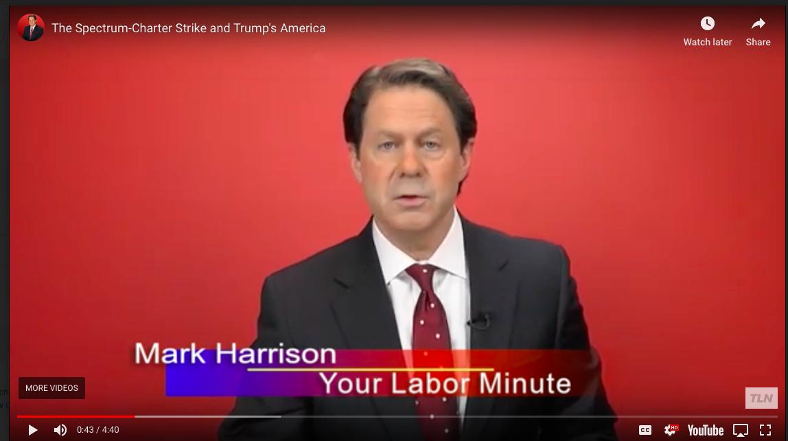 Labor This Week: The Spectrum Strike