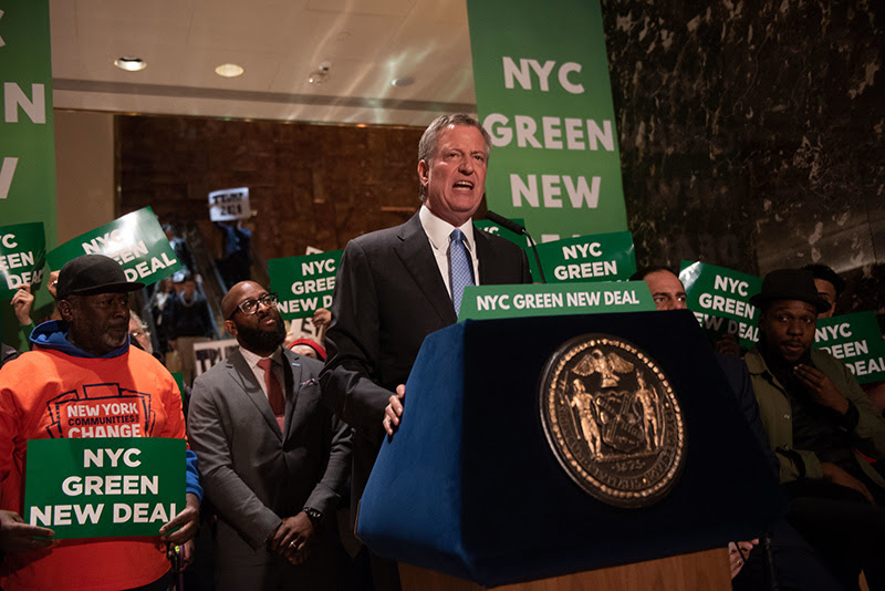 NYC to Trump: Cut Greenhouse Emissions in in Your Buildings