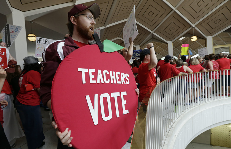 N.C. Educators March for More Funds
