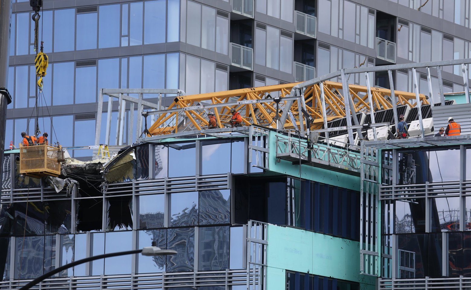State Begins Probe of Seattle Crane-Collapse Contractors