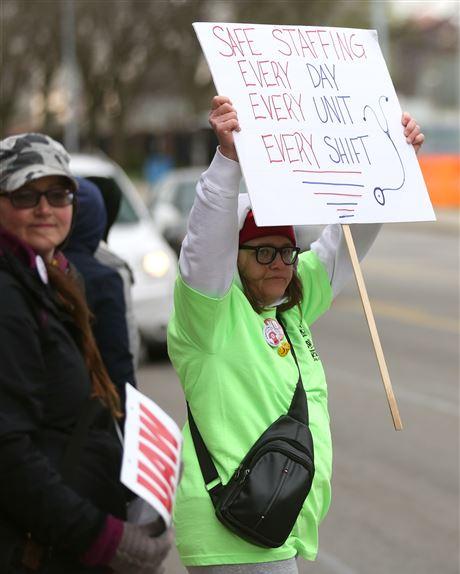 Toledo Nurses Strike Over Understaffing, Scheduling