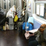 Homeless On Subway Addressed By NYC