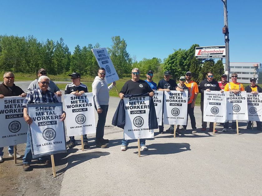 Ontario Pipe Trades End Strike; Sheet-Metal Workers Still Out