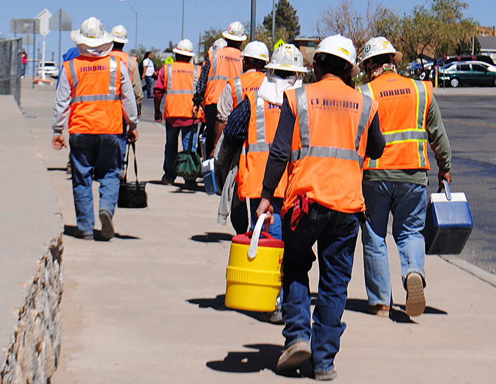 Immigrant Workers in Construction Rising