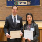 Ramneet Kalra and Dr. David Tepel from NYC Health Dept. Receive Hayes Award