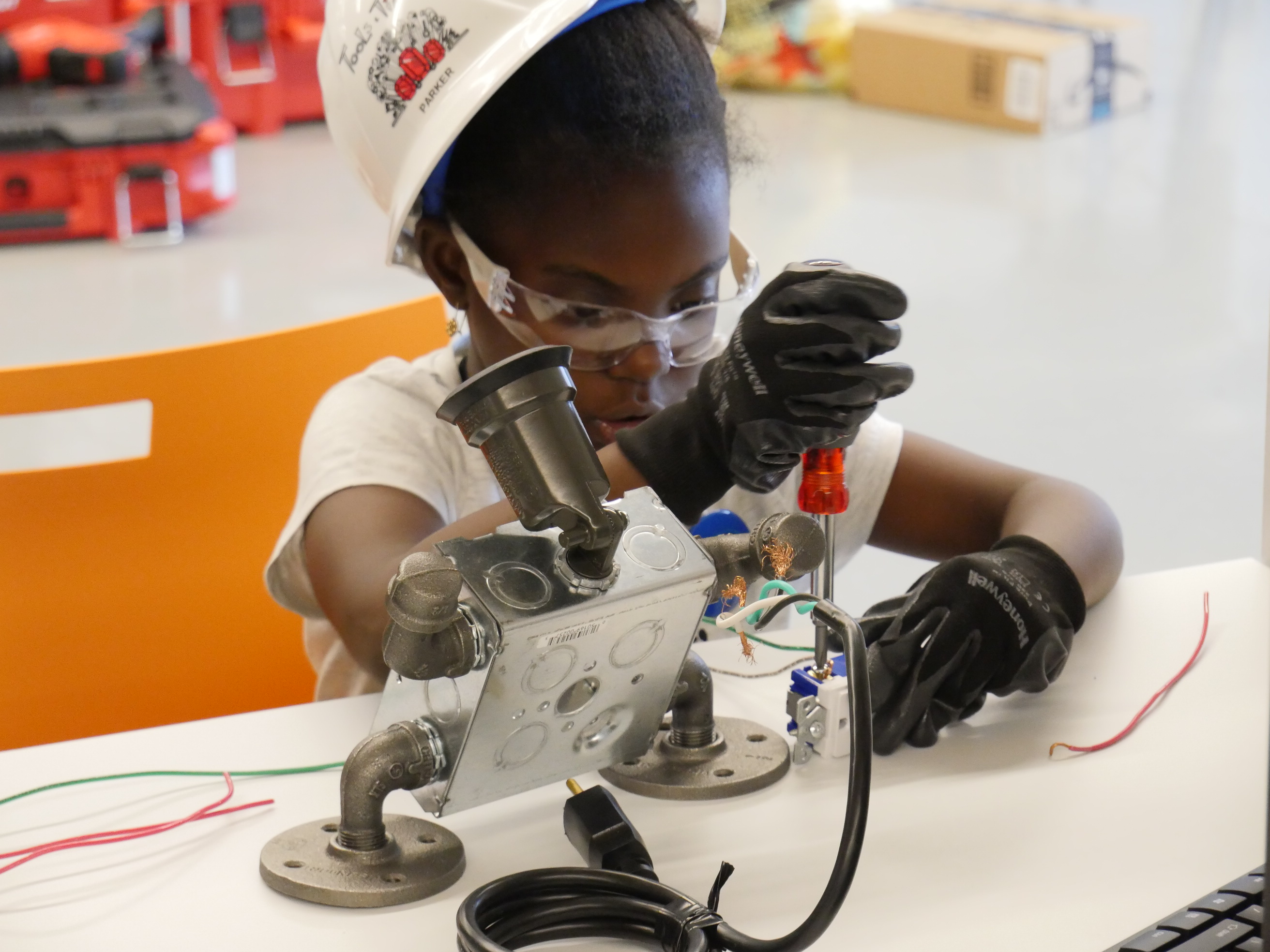 A Different Kind of Summer Camp Introduces Girls to the Building Trades