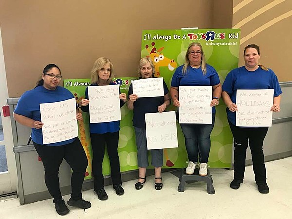 Toys R Us Workers Win $2M for Severance