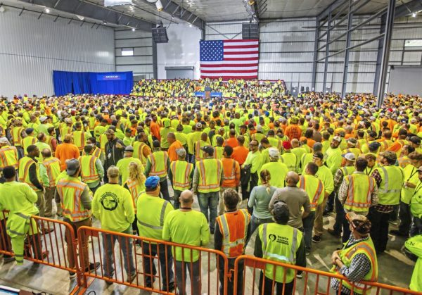 Pennsylvania Workers Docked Pay for Not Attending Trump Speech