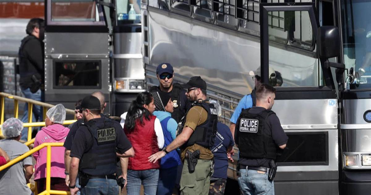 Mississippi Immigration Raids Leave Children  Without Parents