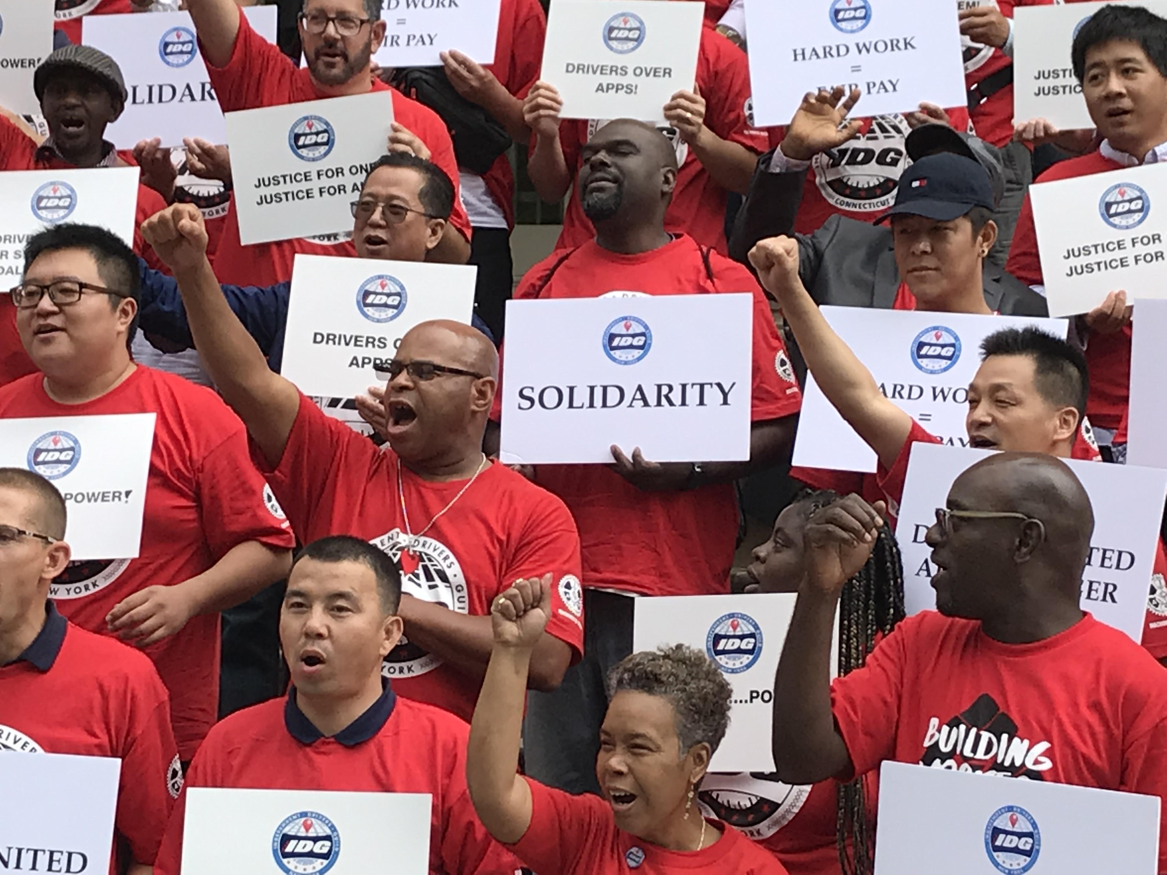 IDG Urges Ending Caps on App-Based Cabs, Abolishing TLC