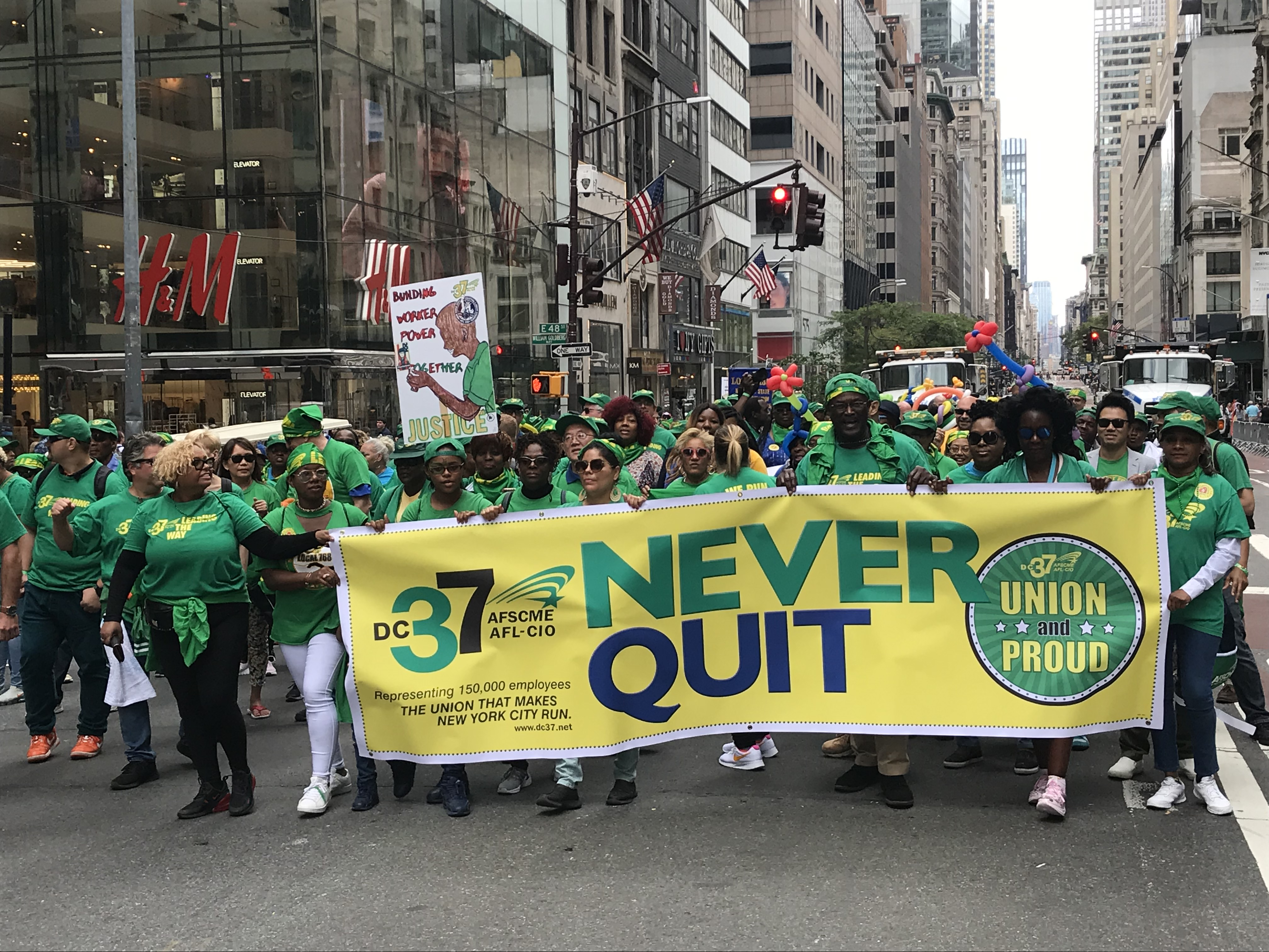 Union Leaders Talk Solidarity, Worker Rights and More At Annual Labor Day Parade