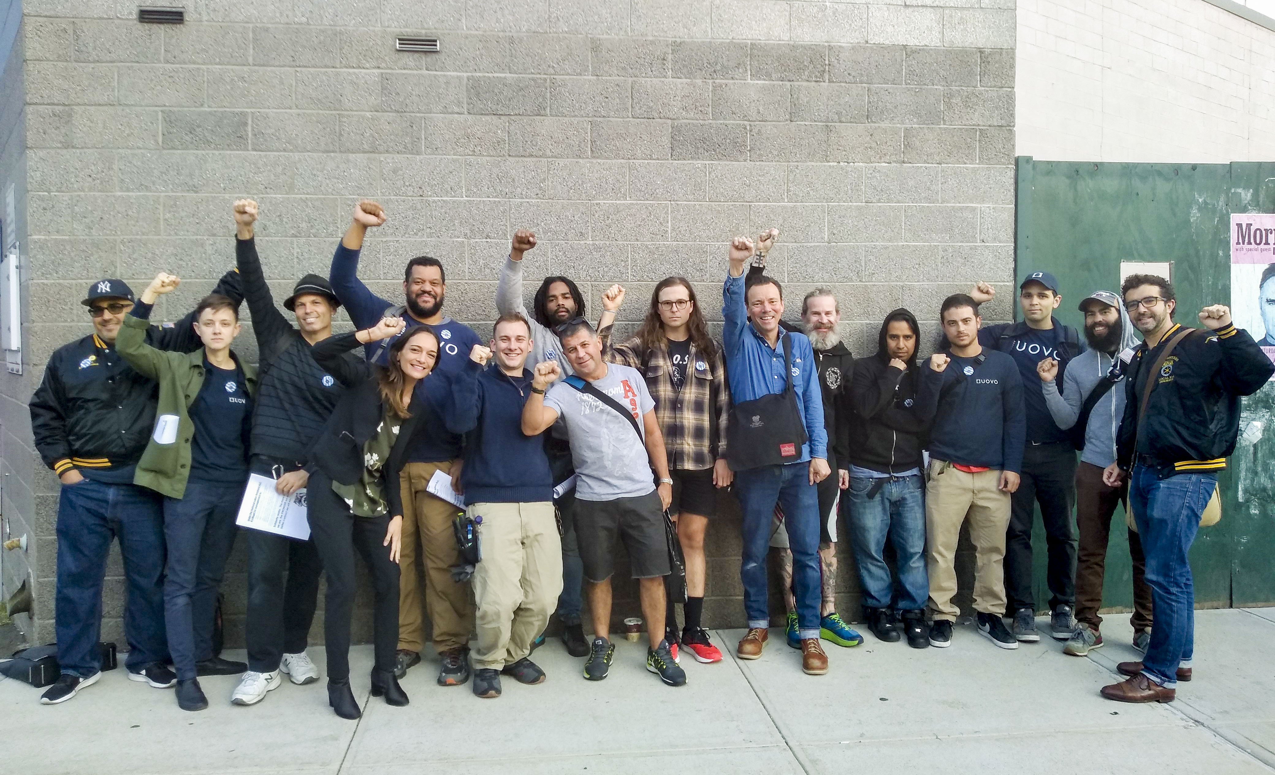 Art-Storage Workers Demand Union at Captive-Audience Meeting