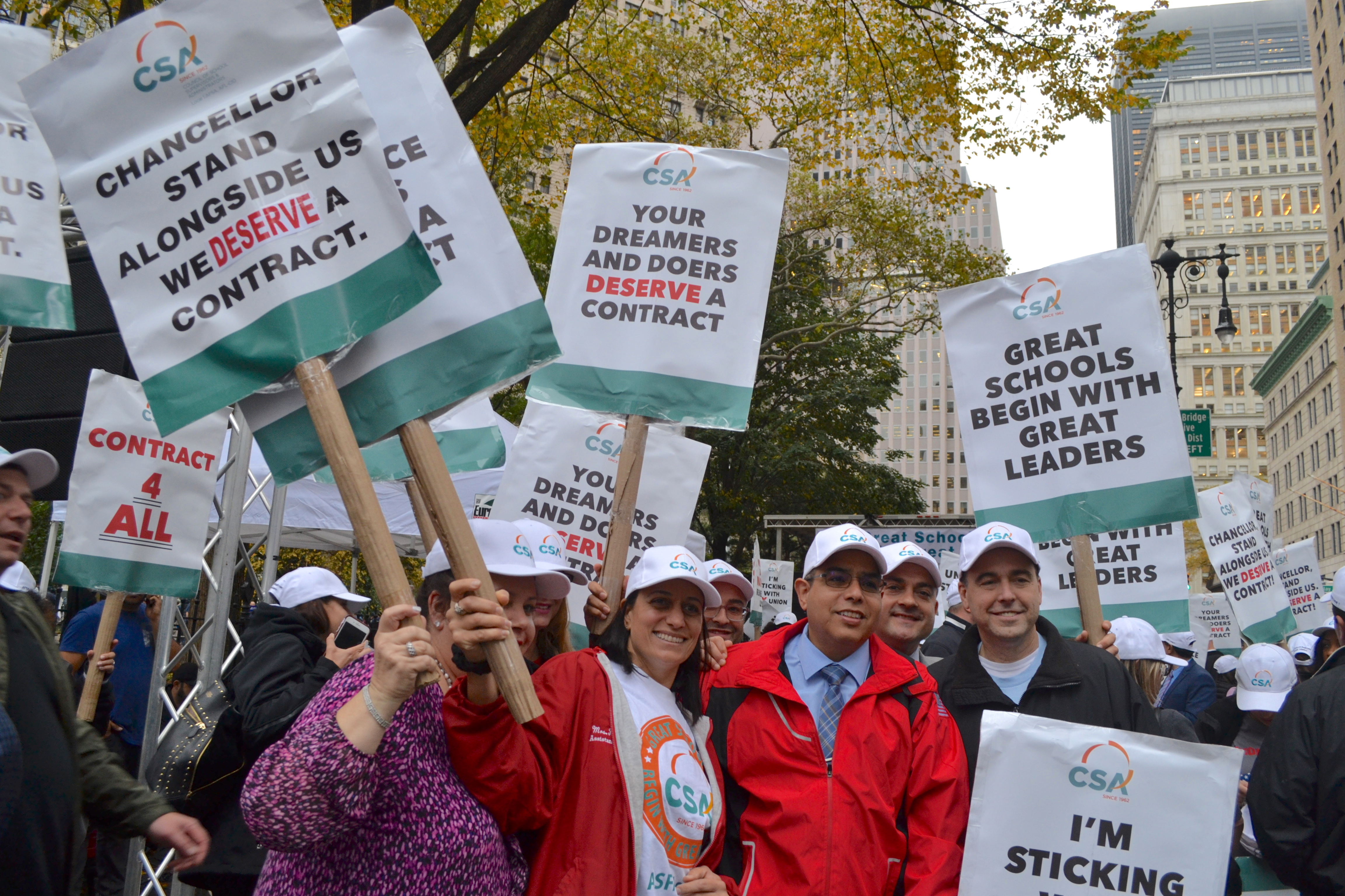 School Principals and Administrators Rally for Fair Contract; More Resources for NYC Kids