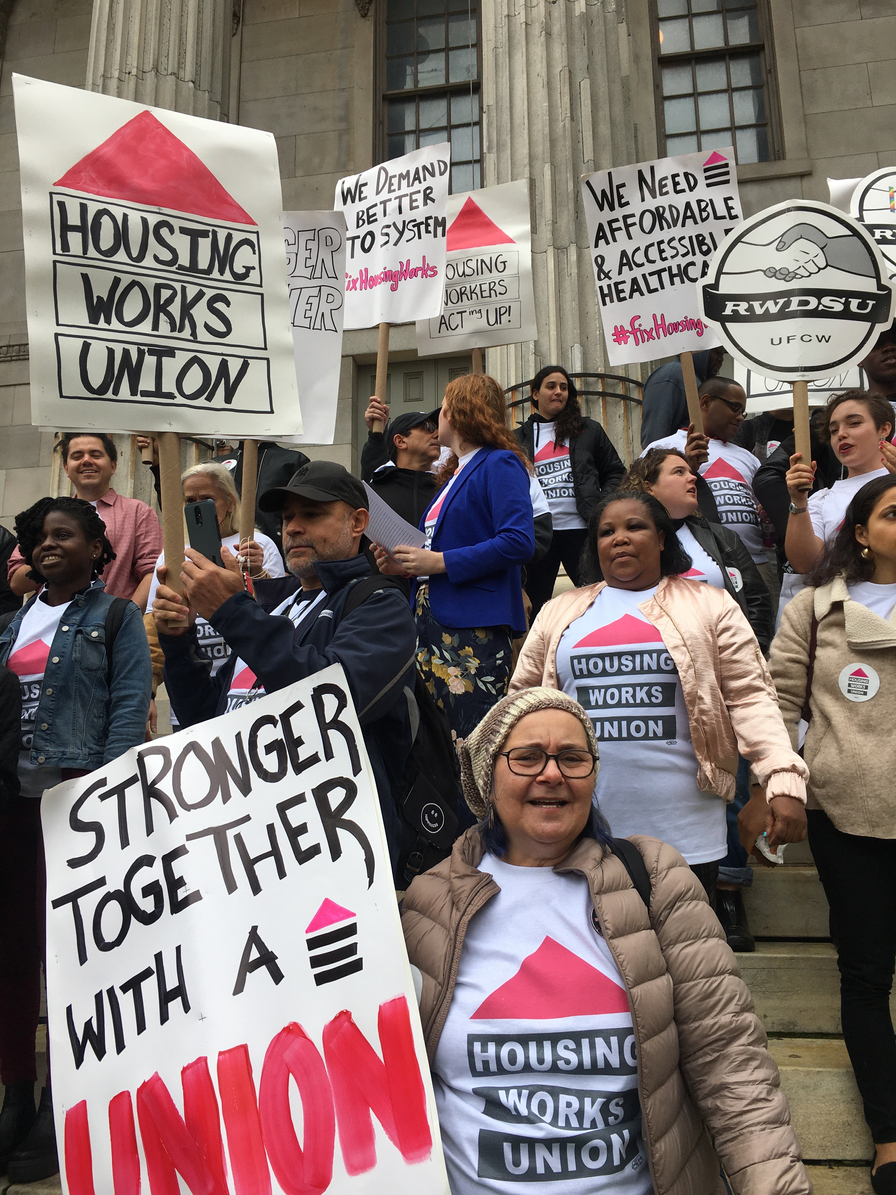 'Do LGBT Rights Stop When You Get a Job?' The Fight For Unionization At Housing Works