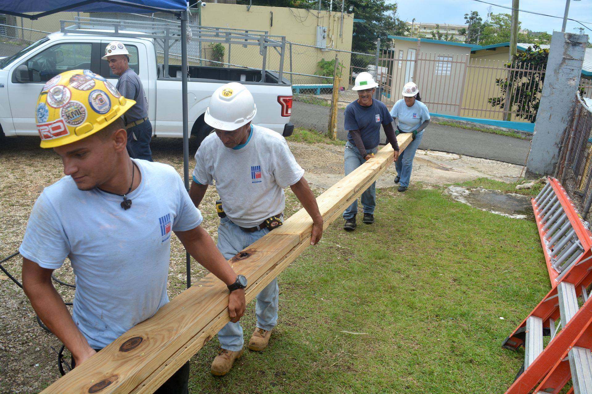 Union Carpenters Volunteer to Help Bahamians Rebuild After Hurricane Dorian