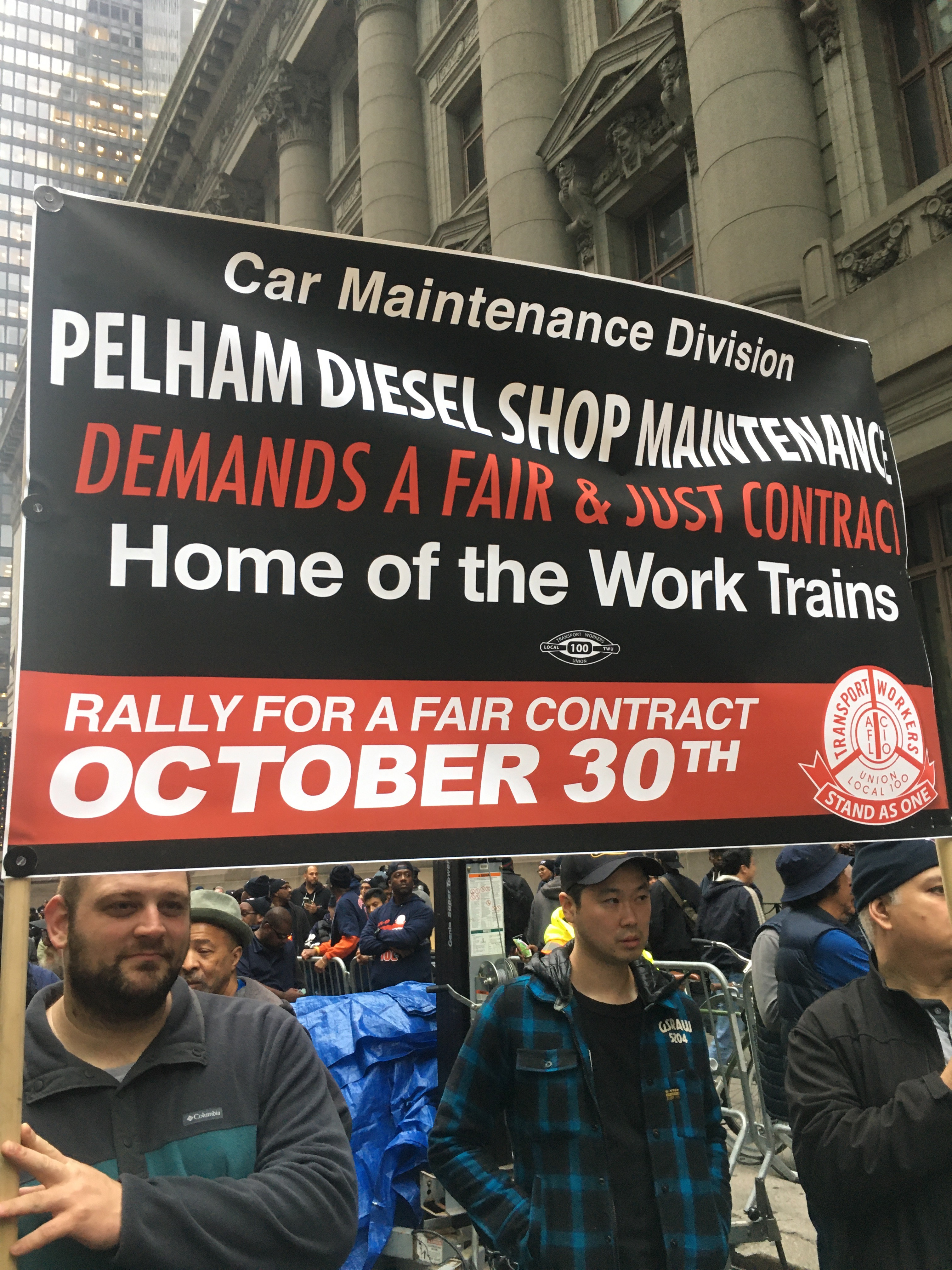 Shut It Down! Transit Workers Invoke '66 Strike In Contract Battle With MTA