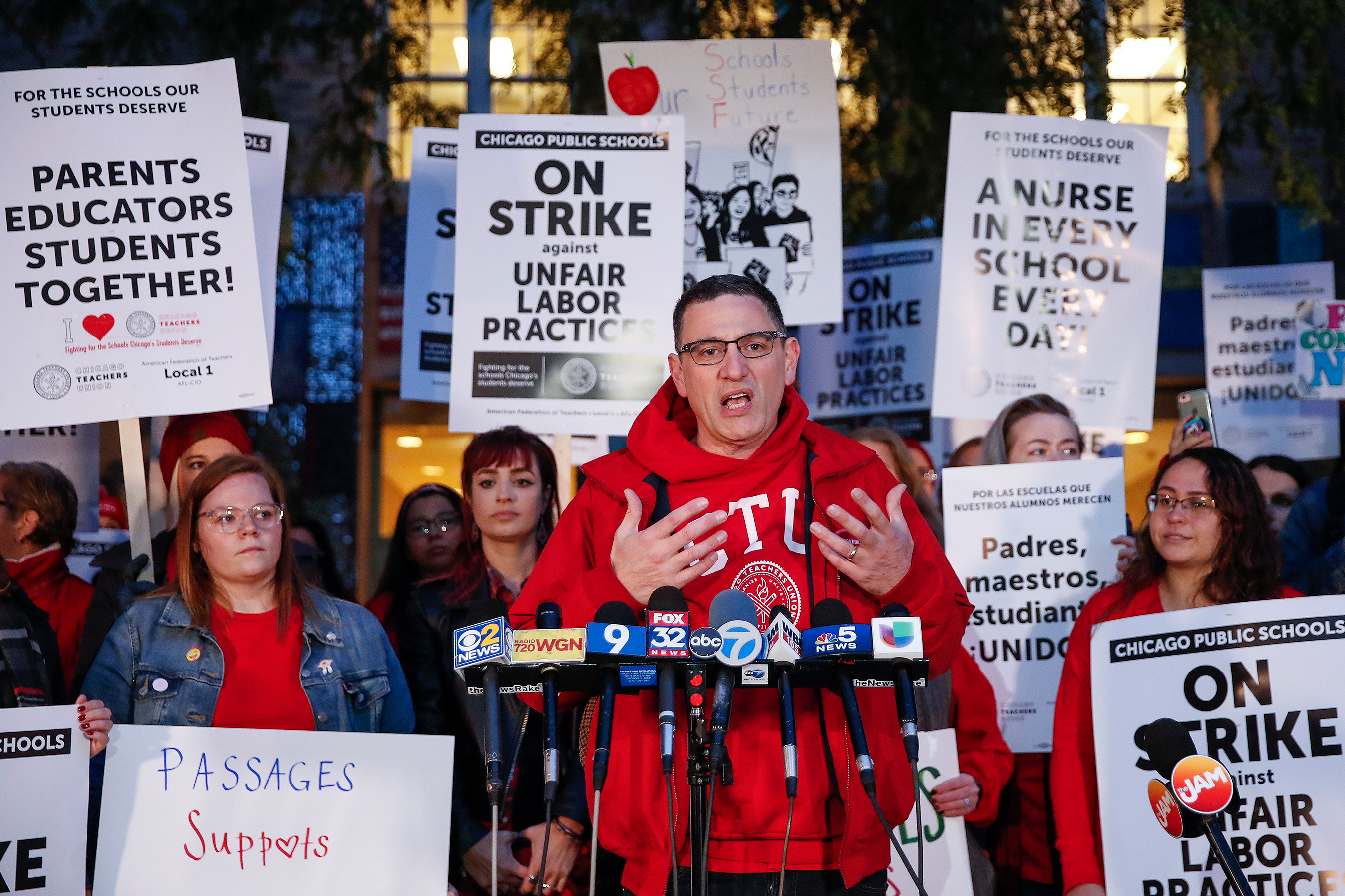 Chicago Teachers 'Optimistic' About Contract Talks