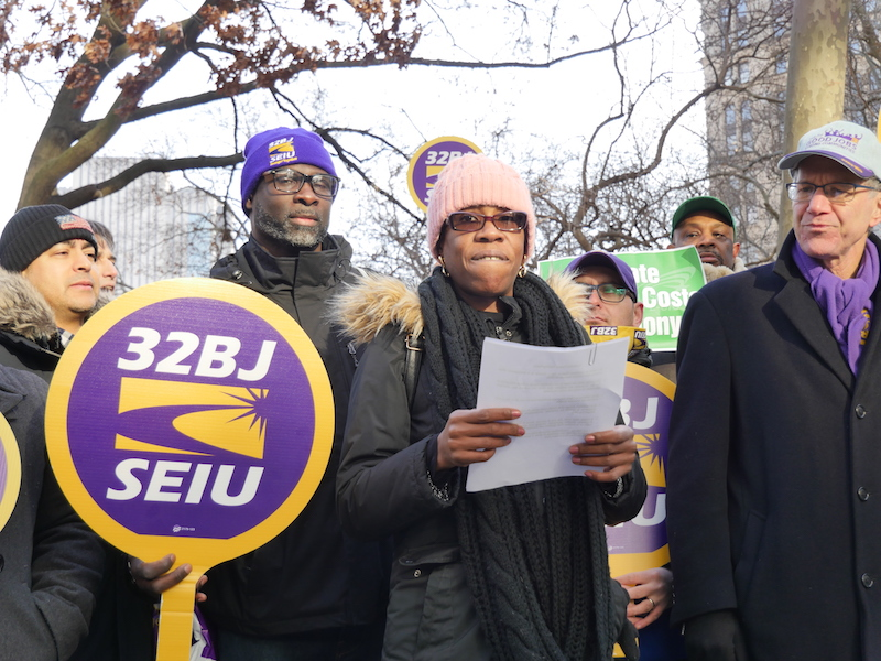 NYC Labor Unions Jeer 'Out of Control' Healthcare Costs