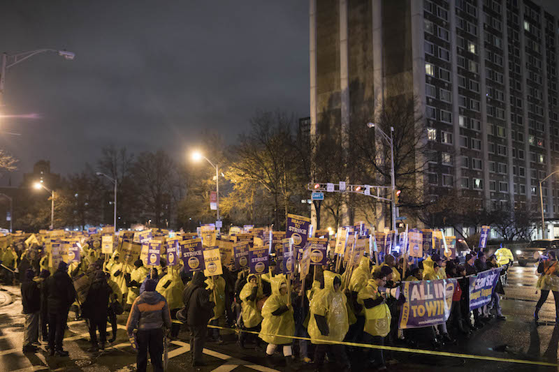 Jersey Janitors Win Tentative Contract
