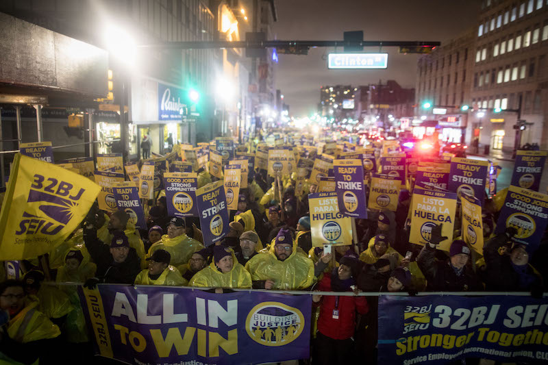 Jersey Janitors Authorize Strike for Dec. 31
