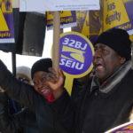 Uninsured Airport Workers Pin Hopes on Legislators Returning to Albany